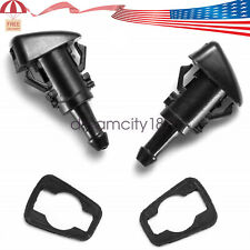 2PCS 47186 Windshield Washer Water Nozzle Spray Fits Dodge Ram Chrysler New