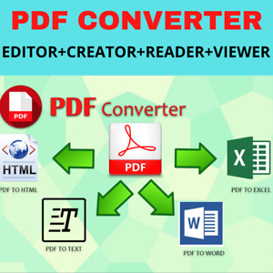 Best PDF Editor +Creator+Reader+Viewer+Converter