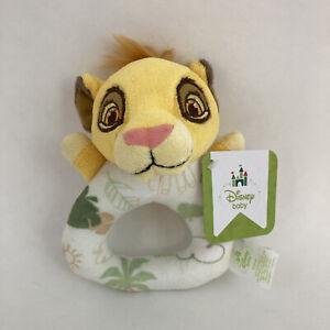 Disney Baby Lion King Simba Plush Hand Rattle