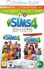 Los Sims 4 + Perros y gatos Colección Bundle juego PC/MAC Descargar clave - ES