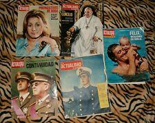 Lote 5 revistas La actualidad española