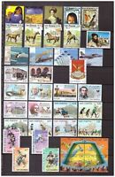 S14597) San Marino 2003 MNH Year Birthday CPL Year Set 37v +4 S/S 2 Scans