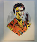 TYLER STOUT Scarface Pros & Cons Handbill Print Sold Out!