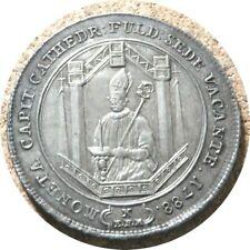 elf Germany Fulda Bishopric 1 Thaler 1788  Sede Vacante  St. Boniface