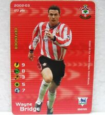 FOOTBALL CHAMPIONS PREMIER LEAGUE 2002-03 - WAYNE BRIDGE - 90/105-Sunderland