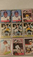 Darrell Evans Baseball Card Mixed Lot approx 80 cards