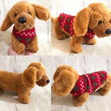 Christmas Jumper Card Factory Sausage Dachshund Dog Plush Soft Toy Cuddly Gift