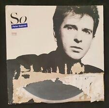 "PETER GABRIEL - 'So' 12"" Vinyl LP Record 1986"