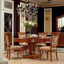 4x Chaise Set Complet Fauteuil Style Antique Baroque Rokoko Siège Ensemble Neuf