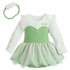 Disney Store Tinkerbell Baby Bodysuit Costume Dress Outfit Fairy Princess 9-12mo