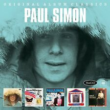 PAUL SIMON - ORIGINAL ALBUM CLASSICS 5 CD NEU