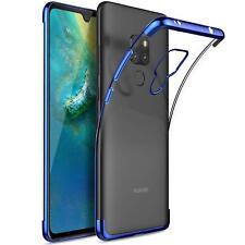 Huawei Mate 20 Hülle Schutzhülle Handy Tasche Slim Cover Case + 9H Glas Folie