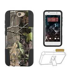 Beyond Cell Shell Case Hyber For HTC AERO ONE A9 Hunter Tree Camo