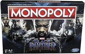 Hasbro Monopoly: Black Panther Board Game - E5797