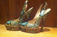 Wonderfull Prada Python Heels(16,5cm) Sz 37