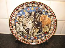 CAT   PLATE  -  CATS -  MUPPET AS MR.MISSTOFFELEES   - DANBURY MINT