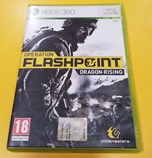 Operation Flashpoint Dragon Rising GIOCO XBOX 360 VERSIONE ITALIANA