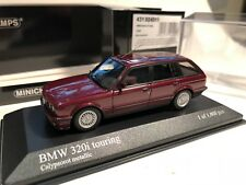 1/43 Minichamps BMW E30 320i Touring 1989 Calypso Red/Black LE 1/1008 MEGA Rare!