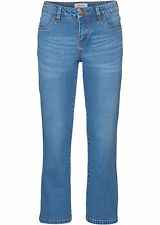 Stretch-Jeans in 3/4-Länge FLARED Gr.38