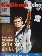 Programm 1999/00 1. FC Köln - Hannover 96