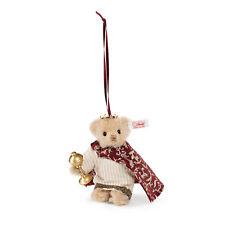 Steiff  034138   Teddybär Melchior 10 cm Moh. honig.*NEU*