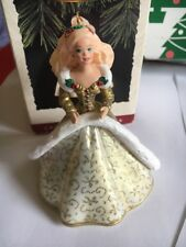 Christmas Hallmark Keepsake Holiday Barbie Number 2 Ornament  In Box