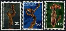 Liechtenstein 1972 SG#557-9 Natural ART CTO utilizzati Set #D59382