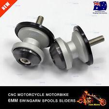 6mm Swing Arm Spool Swingarm Sliders Stand Screws Yamaha MT-25 15-16 MT-03 2016