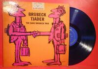 DAVE BRUBECK TRIO BRUBECK-TJADER LP 1962 BLUE VINYL NICE CONDITION! VG/VG!!A