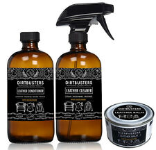 Professional Leather cleaner and conditioner and balm Cleans Deodorises protects