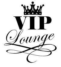 Tür Sticker Aufkleber Wandtattoo VIP Lounge / Wohnzimmer / Schlafzimmer
