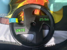 25lb IGNITE WEIGHT PLATE 1 INCH - BRAND NEW WITH TAGS FAST SHIPPING!!!