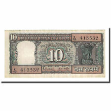 [#169890] Banknote, India, 10 Rupees, undated (1969), KM:69b, VF(20-25)