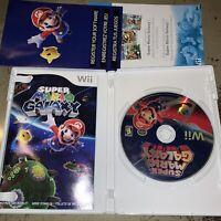 Super Mario Galaxy (Nintendo Wii, 2007) Complete Free Shipping