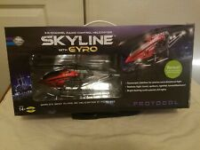 Protocol Red Skyline Remote Control Helicopter with gyro , preowned in Box.