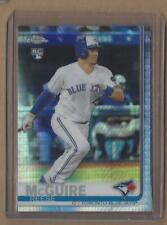 REESE MCGUIRE 2019 Topps Chrome Prism Refractor Rookie Card #6 Blue Jays RC
