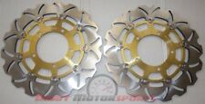 Gsxr 1000 Gsxr1000 Front Brake Rotor Disc Pro Factory 2009 2014 2 Rotors Gold