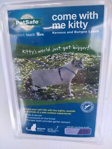 PetSafe COME WITH ME KITTY Cat Harness and Bungee Leash Lilac Medium. NEW