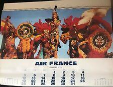 CALENDRIER AIR FRANCE 1975