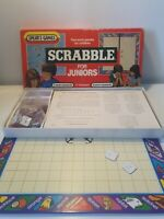 Vintage 1959 Junior Scrabble For Juniors Game Spears Games 2 Blanks Have Letters