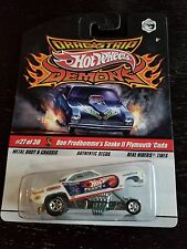 Hot Wheels Drag Strip Demons Don Prudhomme's Snake II Plymouth Cuda