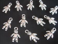 ¡¡¡OFERTA 2x1!!! 28 Colgantes Zamak (NIÑO-11) niños collares pulseras abalorios