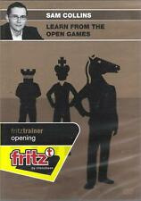 ChessBase - Collins - Learn from the Open Games - Schach / Chess - NEU / NEW OVP