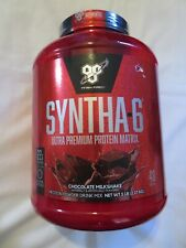 BSN Syntha-6 Protein Matrix Powder Drink Mix 5 lbs 48 Servings Chocolate @5