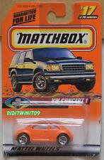 MATCHBOX 1998 VW CONCEPT 1 ORANGE #17 OF 100