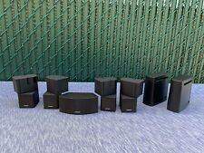 5X Bose Jewel Double Cube Speakers 1 Center Channel, Bose Sl2 Wireless Surround