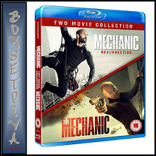 MECHANIC 2 FILM COLLECTION - THE MECHANIC & RESURRECTION  *BRAND NEW BLU-RAY**
