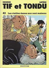 BD Tif et Tondu N°43- Les vieilles dames aux 100 ma. - E.O.1995 TBE - sikorski