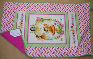 10 GIRL BOY to choose baby quilt blanket-personalized fairy butterfly owl animal