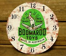 190MM x 5MM MDF CLOCK FACE - BOOMAROO TOYS